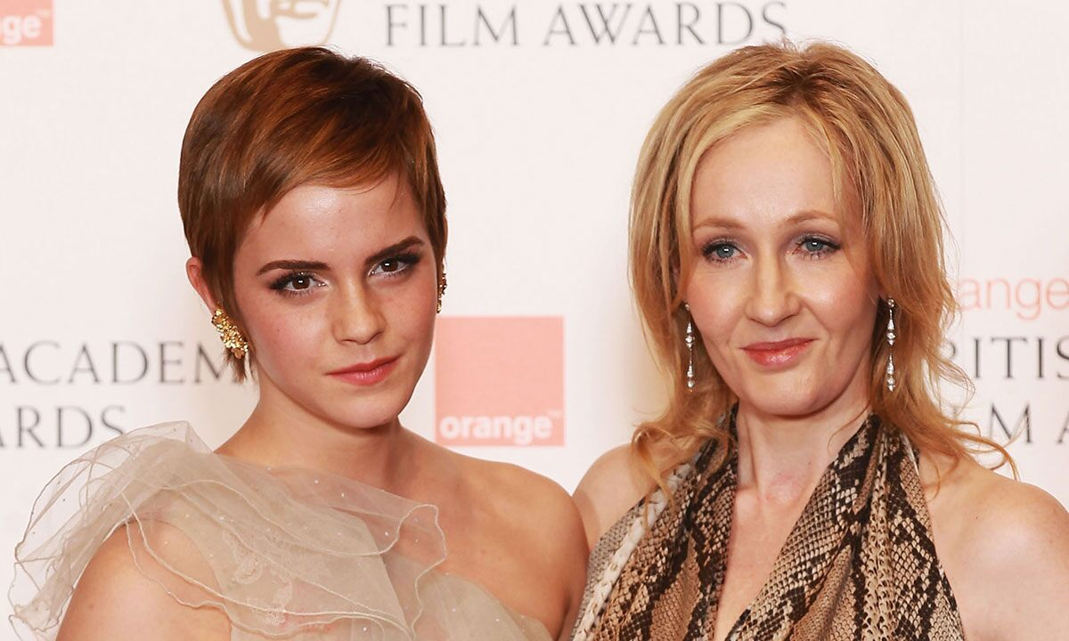 Emma Watson Wishes JK Rowling On her Birthday in a Rather Witchy Way